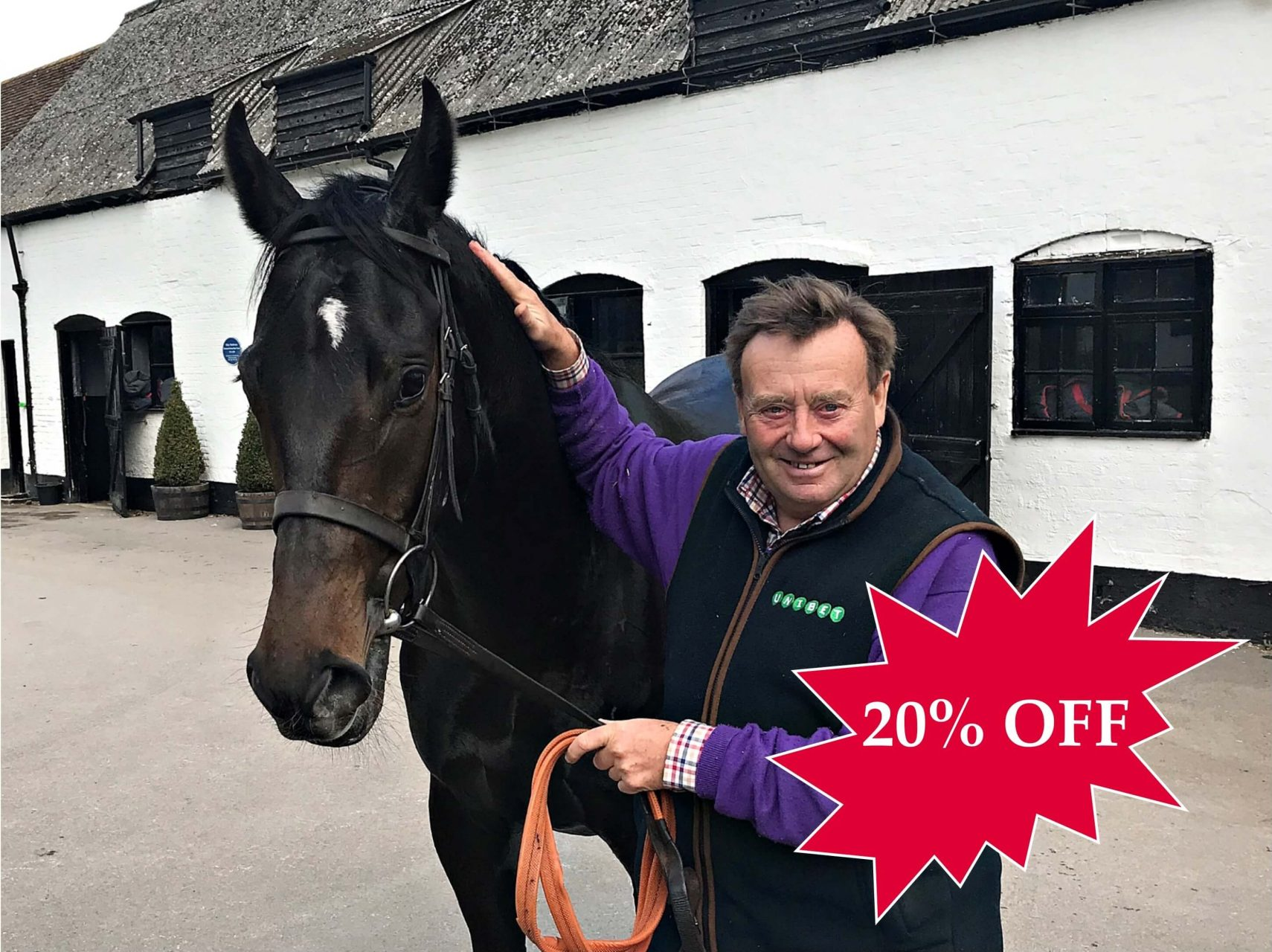 20% OFF ARCADIAN PEARL RACEHORSE SYNDICATE TRAINED BY NICKY HENDERSON